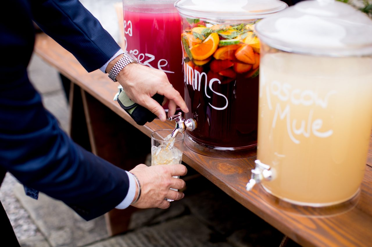 Big Batch Cocktails For A Wedding What Charlotte Baked